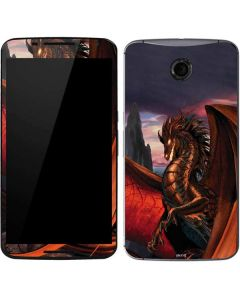 Coppervein Dragon Google Nexus 6 Skin
