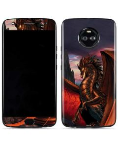 Coppervein Dragon Moto X4 Skin