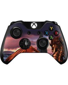 Coppervein Dragon Xbox One Controller Skin