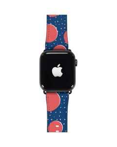 Coral Polka Dots Apple Watch Case