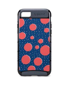 Coral Polka Dots iPhone 8 Cargo Case