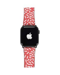 Coral Spring Sprinkles Apple Watch Case