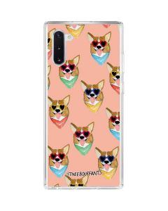 Corgi Love Galaxy Note 10 Clear Case