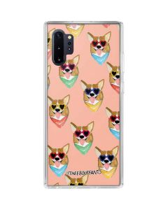 Corgi Love Galaxy Note 10 Plus Clear Case
