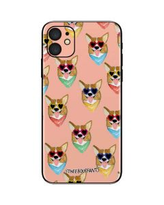 Corgi Love iPhone 11 Skin