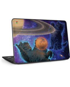 Cosmic Kittens HP Chromebook Skin
