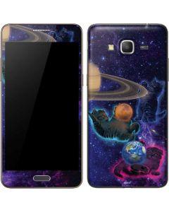 Cosmic Kittens Galaxy Grand Prime Skin