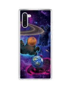 Cosmic Kittens Galaxy Note 10 Clear Case