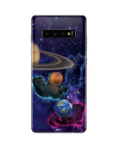 Cosmic Kittens Galaxy S10 Plus Skin
