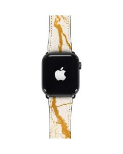 Cracked Marble Apple Watch Band 42-44mm