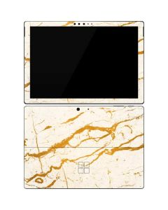 Cracked Marble Surface Pro 7 Skin