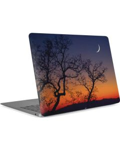 Crescent Moon At Sunset Apple MacBook Air Skin
