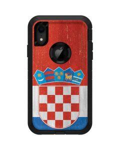 Croatia Flag Distressed Otterbox Defender iPhone Skin