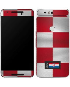 Croatia Soccer Flag Google Nexus 6P Skin