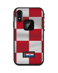 Croatia Soccer Flag LifeProof Fre iPhone Skin