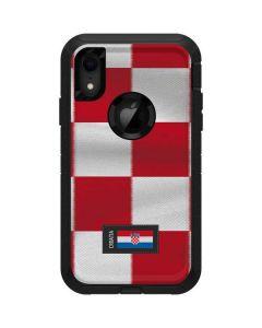 Croatia Soccer Flag Otterbox Defender iPhone Skin