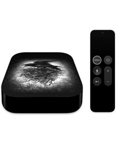 Crow and Skull Apple TV Skin