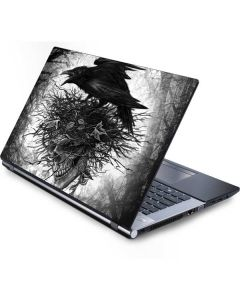 Crow and Skull Generic Laptop Skin