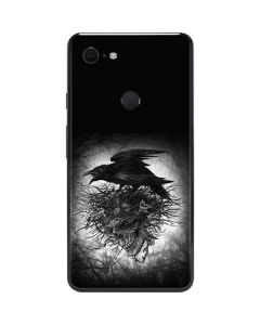Crow and Skull Google Pixel 3 XL Skin