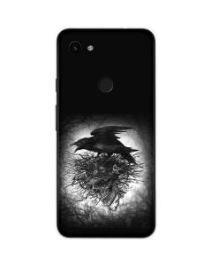 Crow and Skull Google Pixel 3a Skin