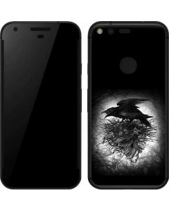 Crow and Skull Google Pixel Skin
