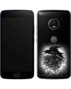 Crow and Skull Moto G5 Plus Skin