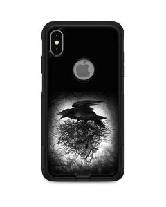 Crow and Skull Otterbox Commuter iPhone Skin