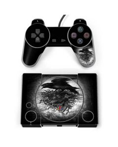 Crow and Skull PlayStation Classic Bundle Skin
