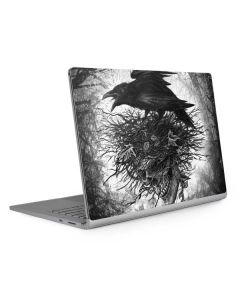Crow and Skull Surface Book 2 15in Skin