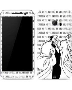 Cruella de Vil Black and White 10 Skin