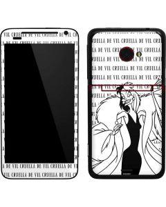 Cruella de Vil Black and White EVO 4G LTE Skin