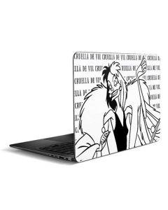Cruella de Vil Black and White Zenbook UX305FA 13.3in Skin