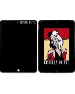 Cruella de Vil Apple iPad Skin