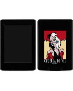 Cruella de Vil Amazon Kindle Skin