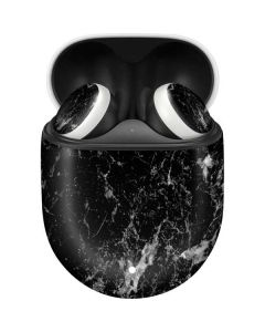 Crushed Black Google Pixel Buds Skin