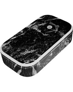 Crushed Black UV Phone Sanitizer and Wireless Charger Skin