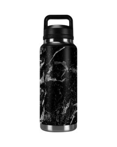 Crushed Black YETI Rambler 36oz Bottle Skin