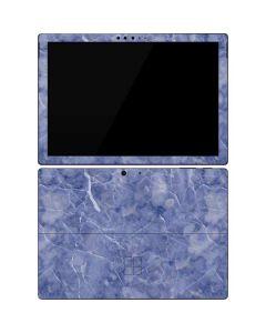 Crushed Blue Surface Pro 7 Skin