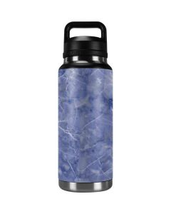 Crushed Blue YETI Rambler 36oz Bottle Skin