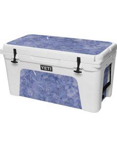 Crushed Blue YETI Tundra 75 Hard Cooler Skin