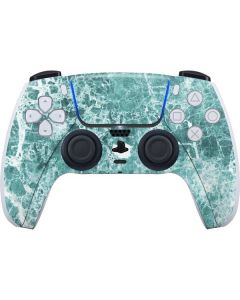 Crushed Turquoise PS5 Controller Skin