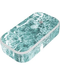 Crushed Turquoise UV Phone Sanitizer and Wireless Charger Skin