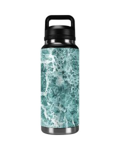 Crushed Turquoise YETI Rambler 36oz Bottle Skin