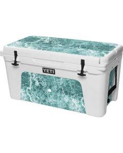 Crushed Turquoise YETI Tundra 75 Hard Cooler Skin
