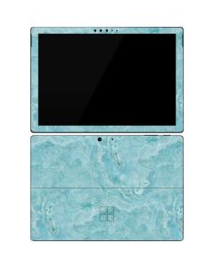 Crystal Turquoise Surface Pro 7 Skin