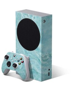 Crystal Turquoise Xbox Series S Bundle Skin