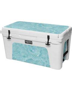 Crystal Turquoise YETI Tundra 75 Hard Cooler Skin