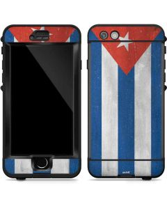 Cuban Flag Distressed LifeProof Nuud iPhone Skin