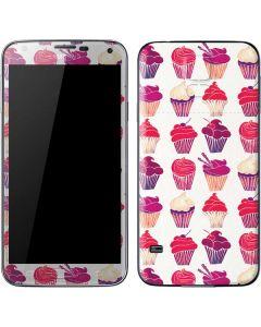 Cupcakes Galaxy S5 Skin