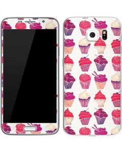 Cupcakes Galaxy S6 Skin
